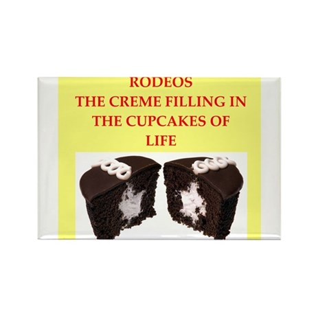 rodeo Rectangle Magnet (100 pack)