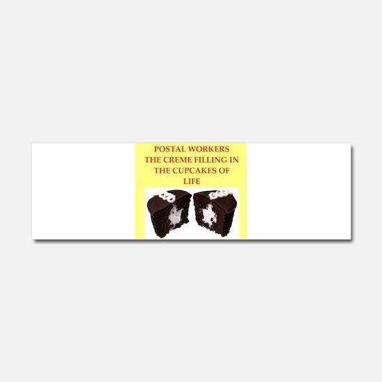 postal worker Car Magnet 10 x 3