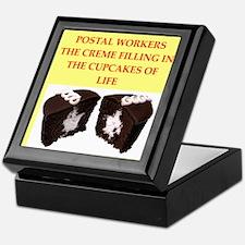 Postal Worker Keepsake Box