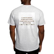 Pop Goes the Camper Ash Grey T-Shirt