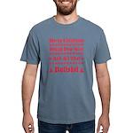 Xmas bull Mens Comfort Colors Shirt