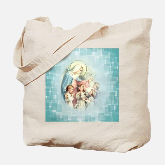 PrayforusOHolyMotherofGod Tote Bag