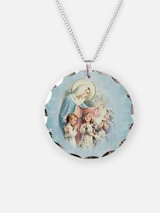 PrayforusOHolyMotherofGod Necklace