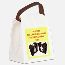 history Canvas Lunch Bag