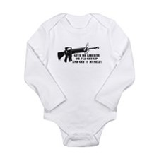 Give Me Liberty Long Sleeve Infant Bodysuit