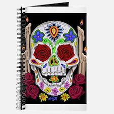 Dia de Los Muertos Skull Journal