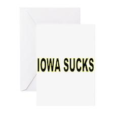 iowasucks2 Greeting Cards