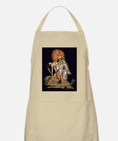 Aztec Warrior and Maiden Apron