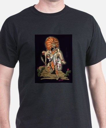 Aztec Warrior and Maiden T-Shirt