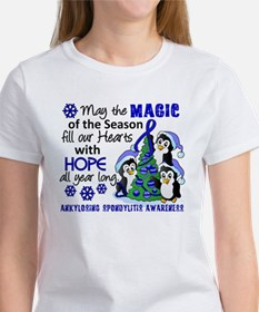 Holiday Penguins AS Women's T-Shirt