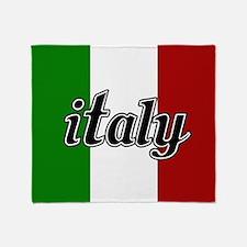Italy Logo Throw Blanket
