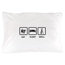 Oil Drilling Pillow Case