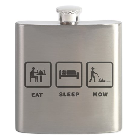 Lawn Mowing Flask