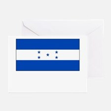 Honduras Flag Picture Greeting Cards (Pk of 10