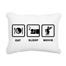 Movie Director Rectangular Canvas Pillow