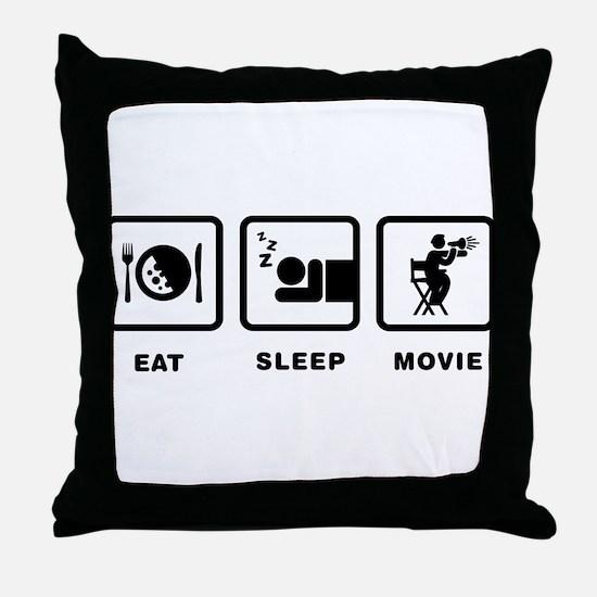 Movie Director Throw Pillow
