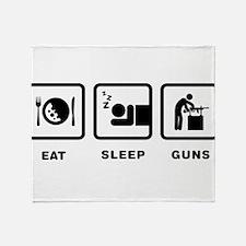 Gunsmithing Throw Blanket