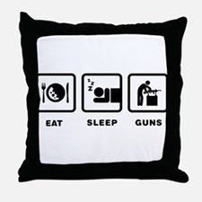 Gunsmithing Throw Pillow