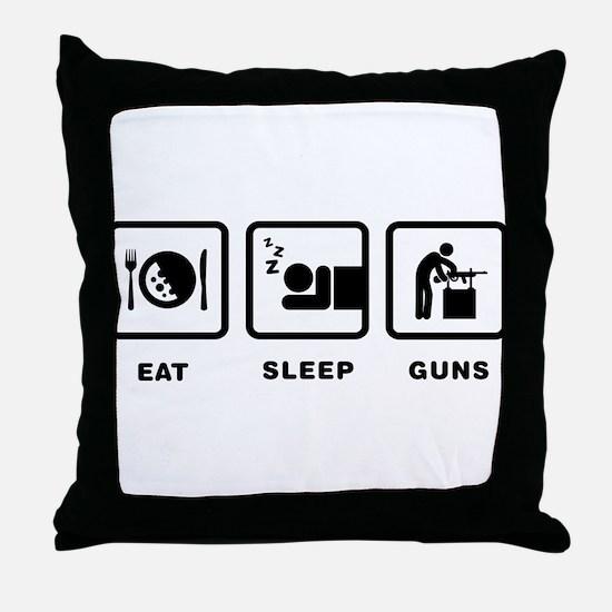 Gunsmithing Throw Pillow