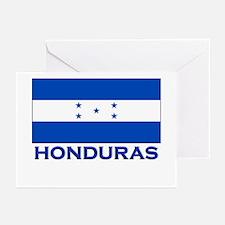 Honduras Flag Gear Greeting Cards (Pk of 10)