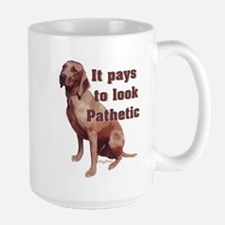 redbone coonhound pathetic Mugs