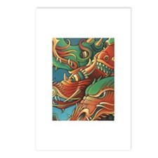 Dragons of Asia Postcards (Package of 8)