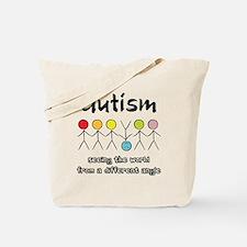 Unique Autistic activism Tote Bag