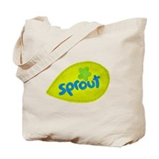 Sprout Leaf Tote Bag
