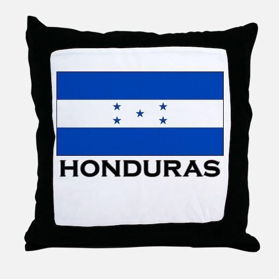 Honduras Flag Merchandise Throw Pillow