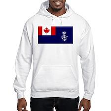Flag - Naval Auxiliary Jack of Canada Hoodie