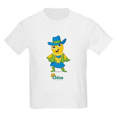 Chica Cowboy Kids Light T-Shirt