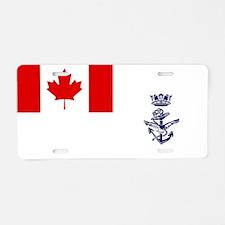 Naval Jack of Canada Aluminum License Plate