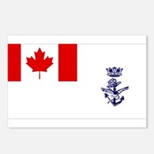 Naval Jack of Canada Postcards (Package of 8)
