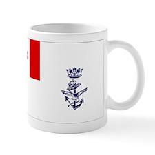 Naval Jack of Canada Small Mugs