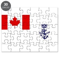 Naval Jack of Canada Puzzle