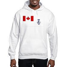 Naval Jack of Canada Hoodie