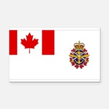 Canadian Forces Flag Rectangle Car Magnet