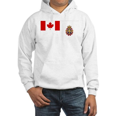 Canadian Forces Flag Hooded Sweatshirt