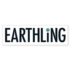 Earthling - Bumper Bumper Sticker