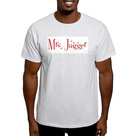 Mrs. Jagger Ash Grey T-Shirt
