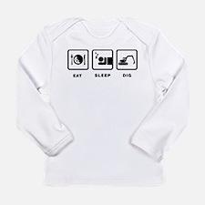 Excavating Long Sleeve Infant T-Shirt