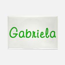 Gabriela Glitter Gel Rectangle Magnet