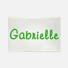 Gabrielle Glitter Gel Rectangle Magnet