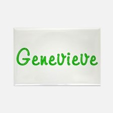 Genevieve Glitter Gel Rectangle Magnet
