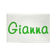 Gianna Glitter Gel Rectangle Magnet