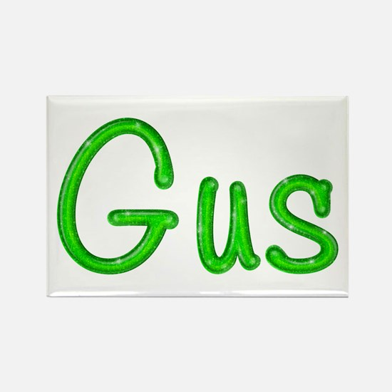Gus Glitter Gel Rectangle Magnet