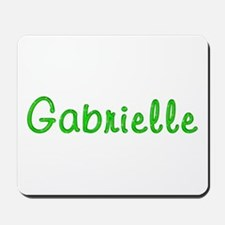 Gabrielle Glitter Gel Mousepad
