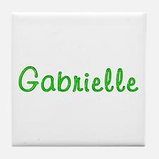 Gabrielle Glitter Gel Tile Coaster