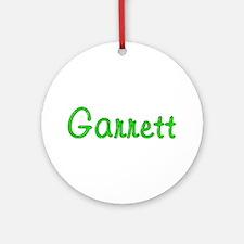 Garrett Glitter Gel Round Ornament