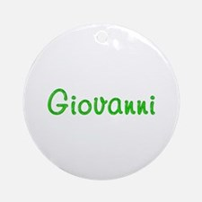 Giovanni Glitter Gel Round Ornament